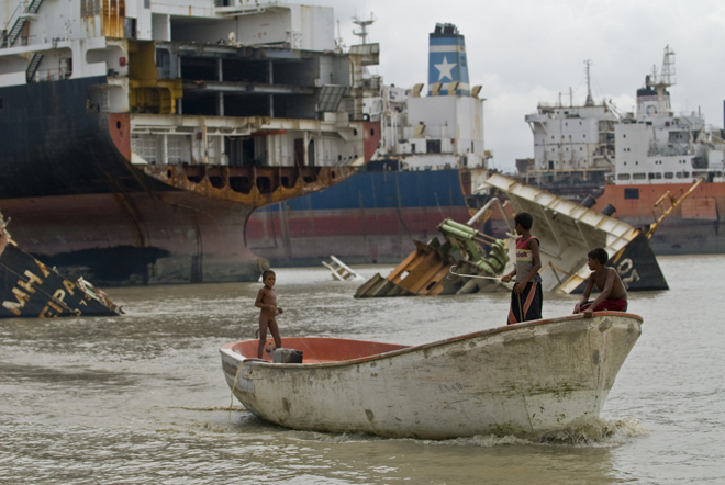 Chittagong Shipbreaking Yards of Bangladesh