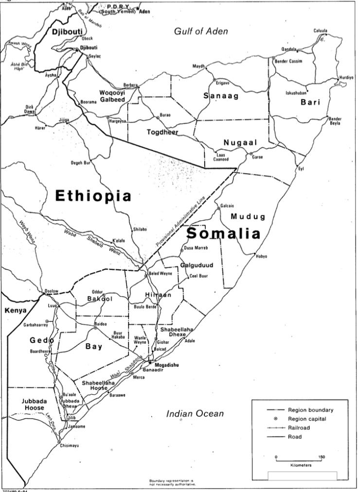 Confine Etiopia Somalia