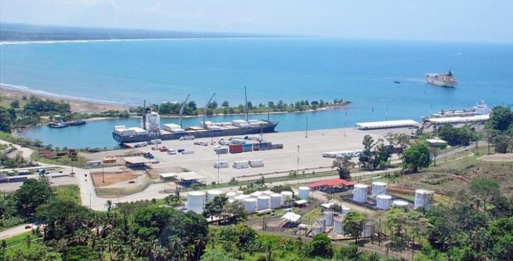 Moin port Costa Rica