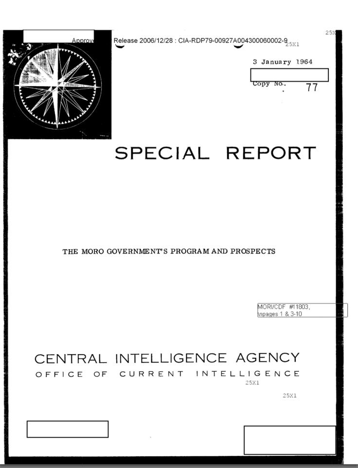 report CIA