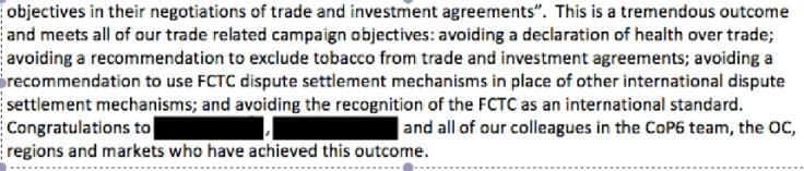 trade non health